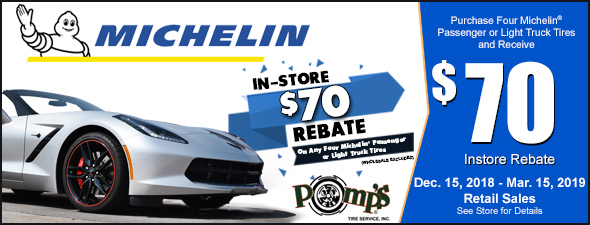 MICHELIN In-Store Rebate