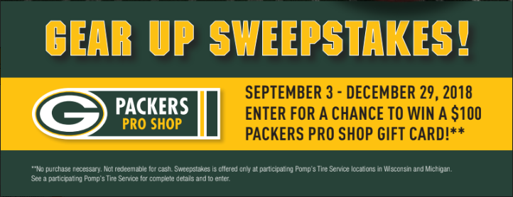 Gear Up Sweepstakes