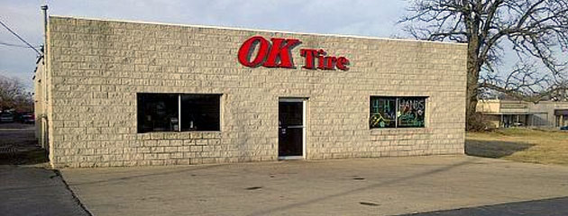 OK Tire Service Location