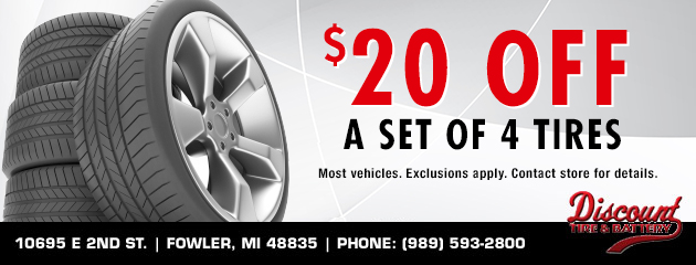 Tires Coupons Discount Tire Battery Fowler