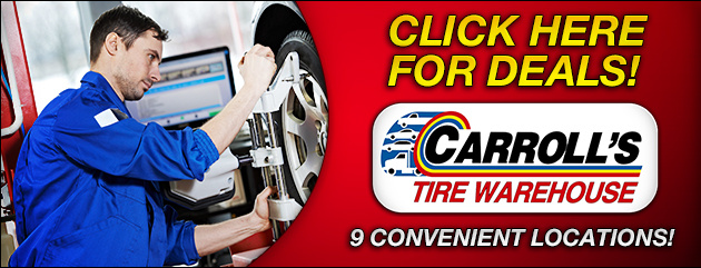 Carrolls Tire Warehouse Savings