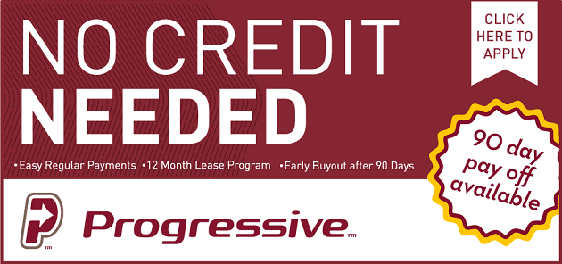 Click here to apply for instant financing through Progressive!