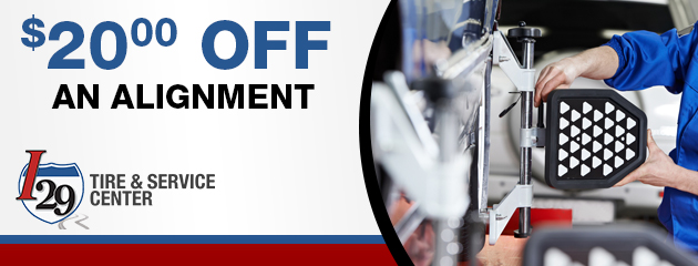 $20.00 off an Alignment