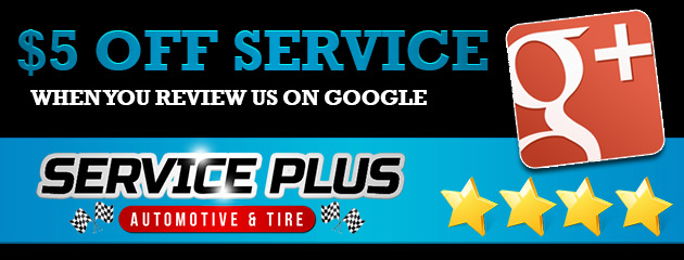 Review Us On Google+ and take $10 off any full price service!