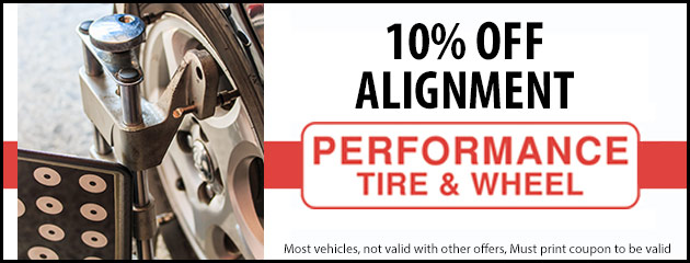 10% Off Alignment