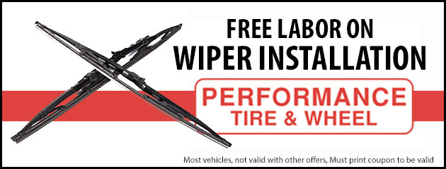 Free Labor on Wiper Installation
