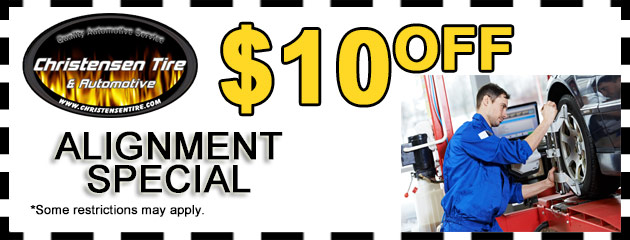 $10 Off Alignment Special