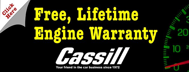 Free Lifetime Engine Warranty
