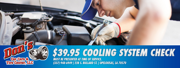$39.95 cooling system check