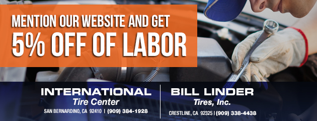 Mention our website and get 5% off of labor