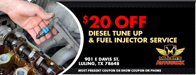 $20 Off Fuel Injection Service