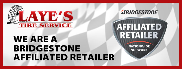 We are a Bridgestone Affiliated Retailer