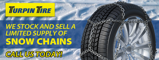 We stock and sell a limited supply snow chains.