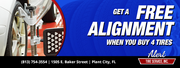 Buy 4 Tires, Get a Free Alignment