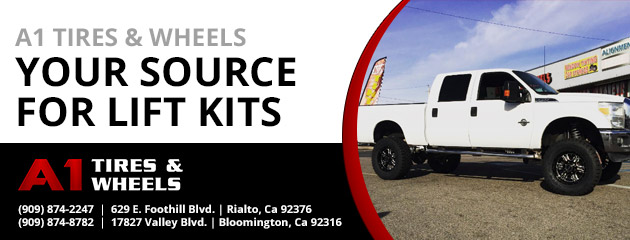 A1 Tires & Wheels - Your Source for Lift Kits