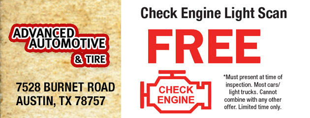 Check Engine Light Scan – FREE