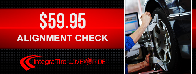 Alignment Check for $59.95