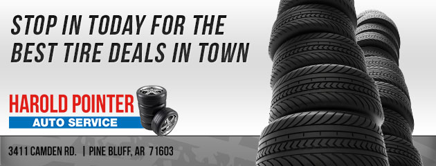 Stop in today for the best tire deals in town