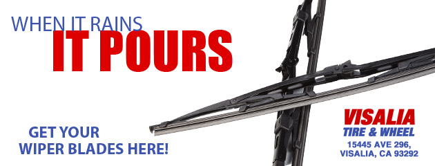 When it rains, get your wiper blades here!