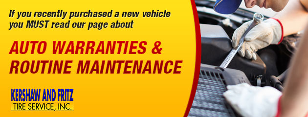 Auto Warranties & Routine Maintenance