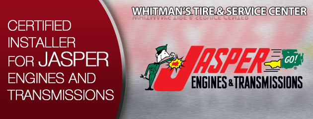 We are a certied installer for Jasper Engines and Transmissions
