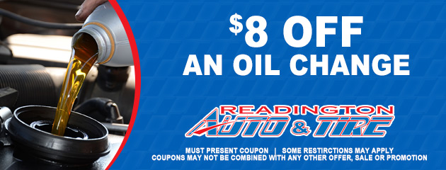 $8 OFF on Oil Change