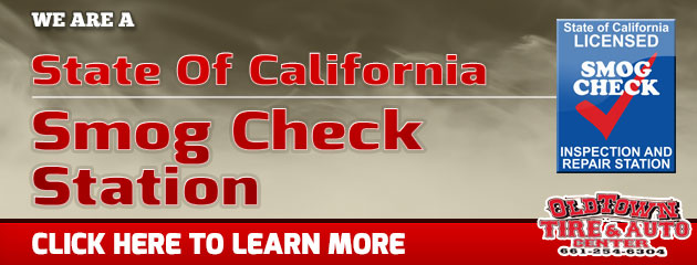 We Are A State of California Smog Check Station