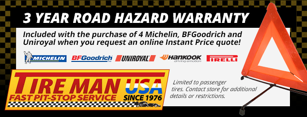 3 year road hazard warranty