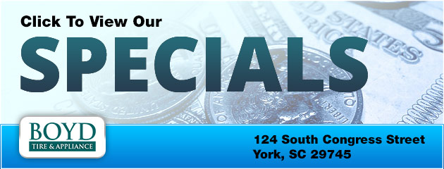 Click to View Our Specials