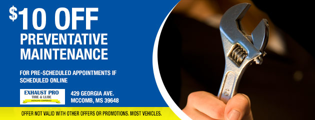$10 Off Preventive Maintenance