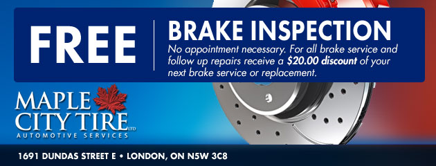 Free Brake Inspection Coupon