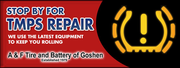 Stop by for TPMS Repair