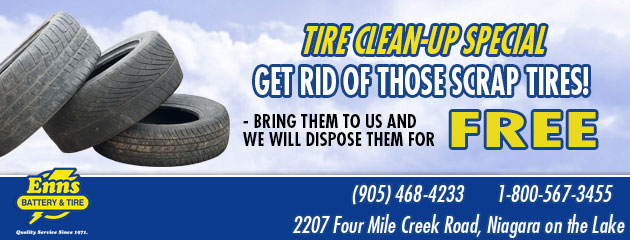 Tires Coupons :: Enns Battery & Tire