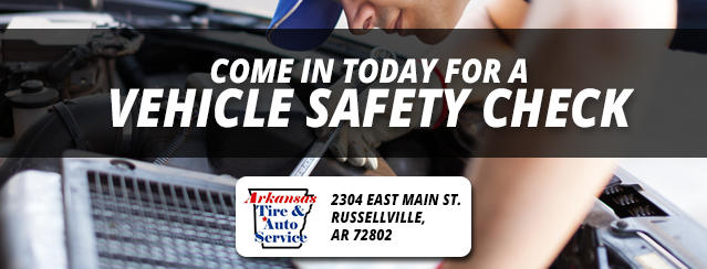 Come in today for a vehicle safety check