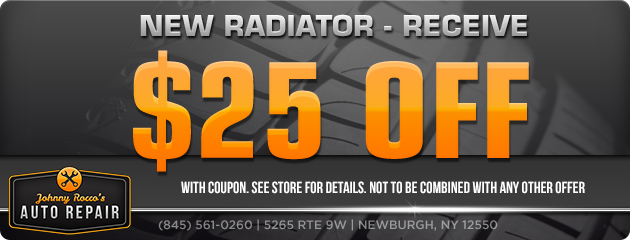 $25 Off a New Radiator