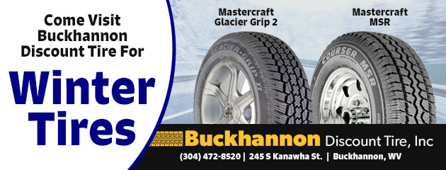 Come Visit  Buckhannon Discount Tire for Winter Tires