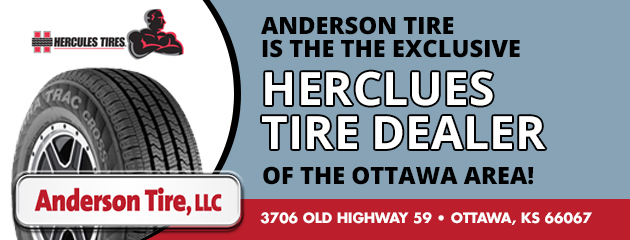 Anderson Tire is the the exclusive Herclues Tire dealer of the Ottawa area!