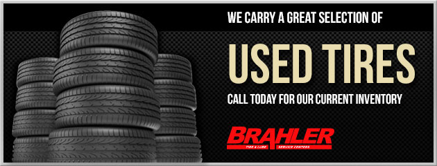 Great Selection of Used Tires