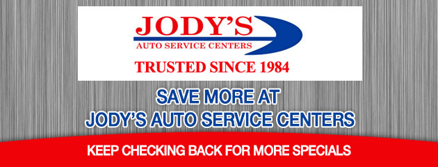 Jody's Auto Service Centers - Coupon Specials