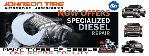 We now offer specialized diesel repair