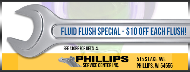 Fluid Flush Special - $10 off each flush!