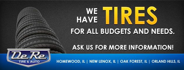We have tires for all budgets and needs. Ask us for more information!