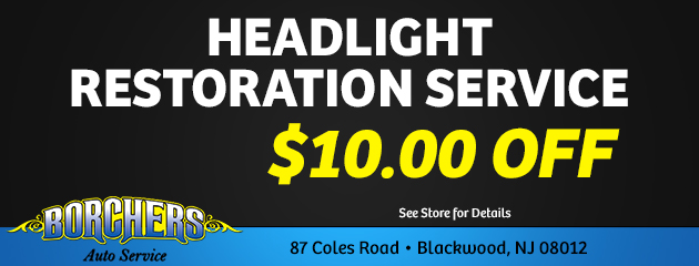 Headlight Restoration Service
