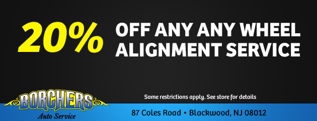 20% Off Any Wheel Alignment Service
