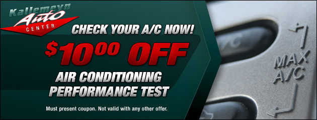 $10 Off AC Performance Check