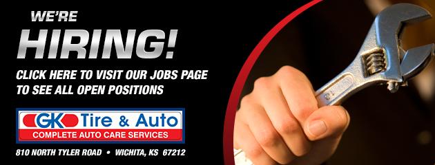 Gk Tire Auto Wichita Ks Tires Auto Repair Shop