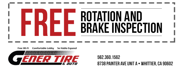 Free Rotation and Brake Inspection
