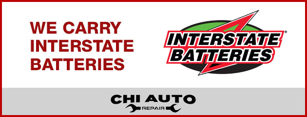 We Carry Interstate Batteries