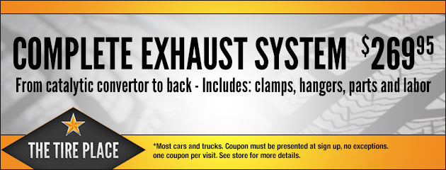 Complete Exhaust System $269.95
