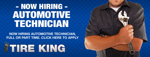 Now Hiring Automotive Technician